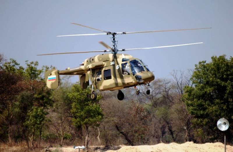 КБ «Камов» заключило контракт на разработку беспилотного вертолёта