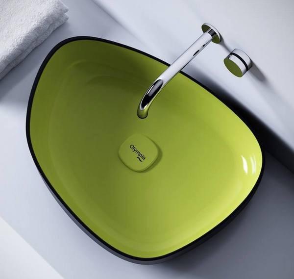 Яркие и необычные раковины для ванной
