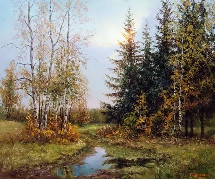 пейзажи Евгений Бурмакин -05