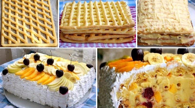 Невероятно вкусный торт «Тропиканка»