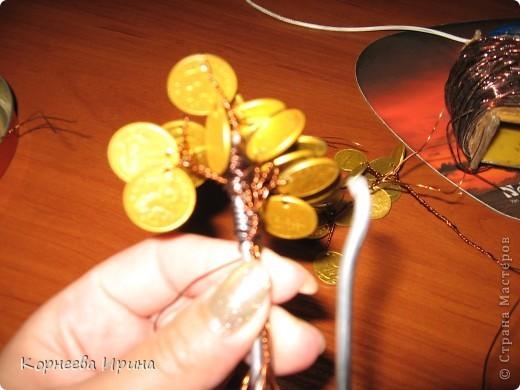 Мастер-класс День рождения Моделирование конструирование Денежное дерево МК фото 12