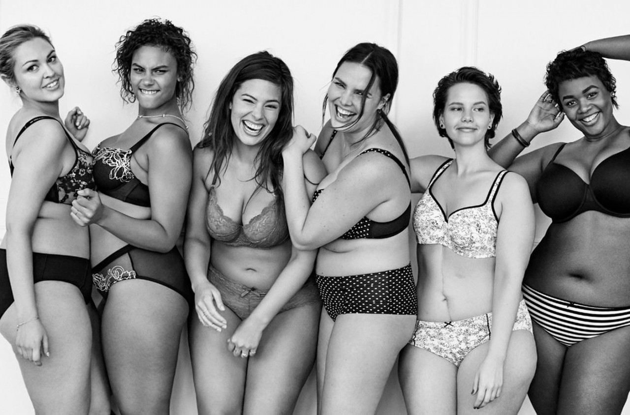 Фотомодели девушки в рекламе нижнего белья 22 фотография