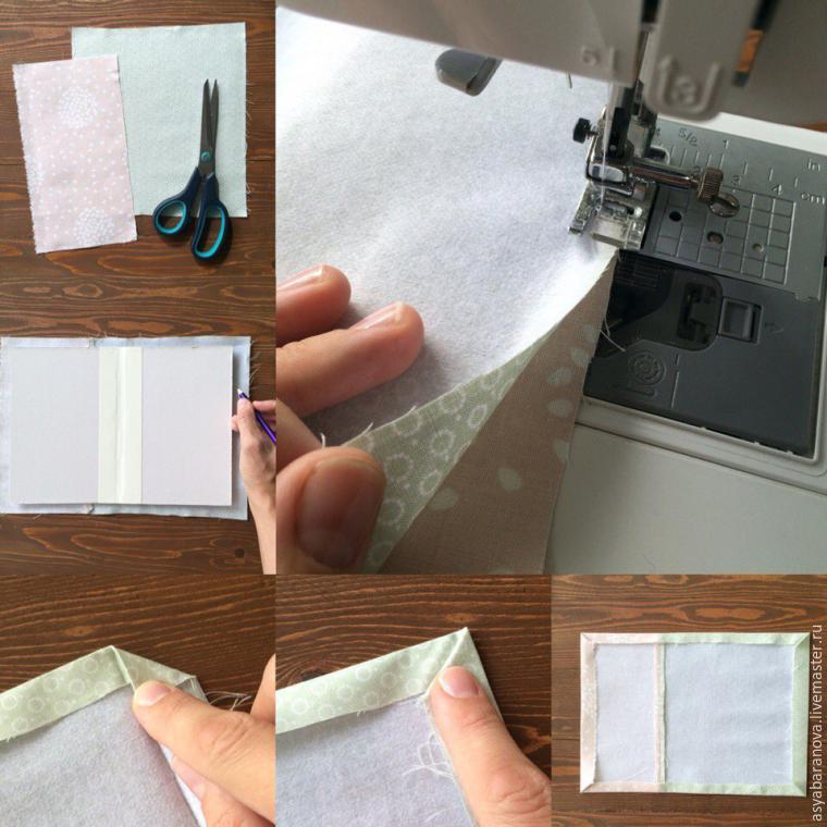 папка для документов, своими руками