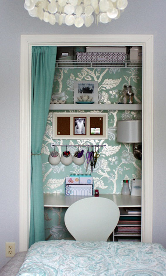 Фотография: Офис в стиле Современный, Декор интерьера, Дом, Декор дома, Системы хранения, Шторы – фото на InMyRoom.ru