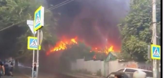 Жителям загоревшихся в Ростове домов ранее угрожали «черные риэлторы»