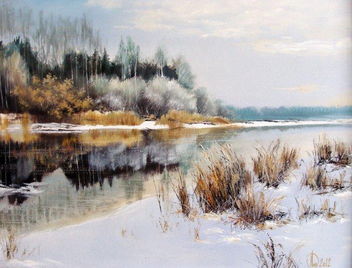 Современный российский художник. Александр Леднев
