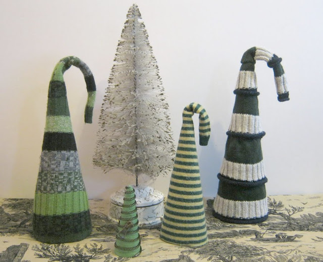 recycled sweater hat trees zipper tree