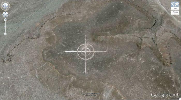 Невада, США google, снимки, спутник