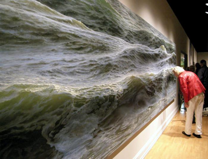 Картина Рэна Ортнера, холст, масло.