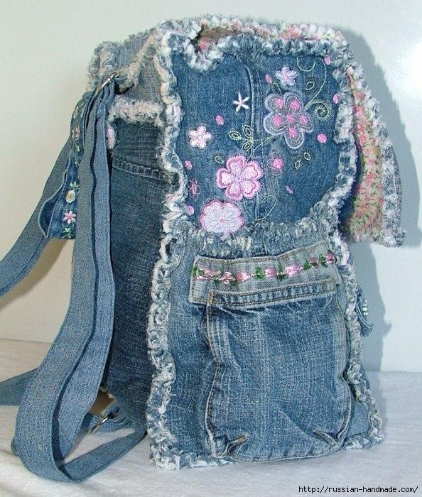 Модные сумки из старых джинсов (32) (594x700, 314Kb)