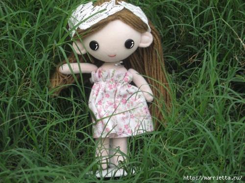 Как сшить куклу. Выкройка и фото мастер-класс (17) (500x375, 182Kb)