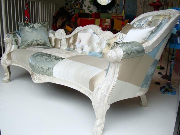 Украшаем мебель в стиле *пэчворк*!
