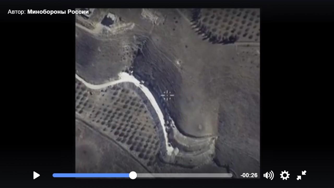 Минобороны России: восемь объектов ИГИЛ уничтожены полностью
