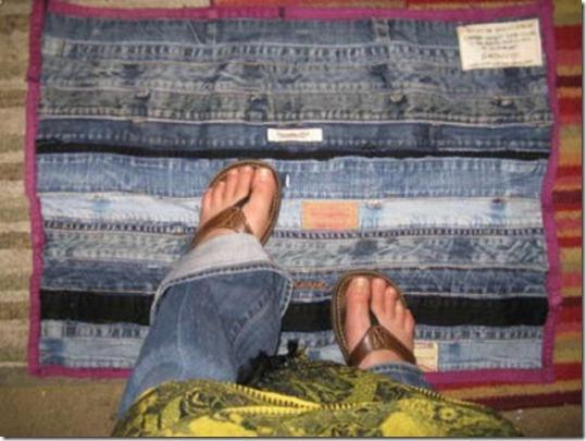 Не спешите выбрасывать старые джинсы