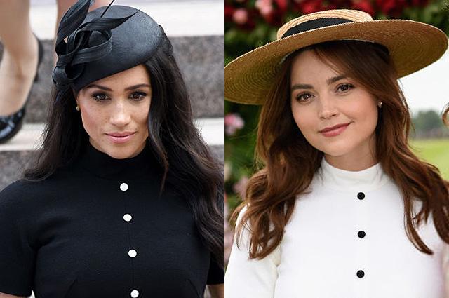 В сети обсуждают одинаковые платья Меган Маркл и экс-возлюбленной принца Гарри Дженны Коулман