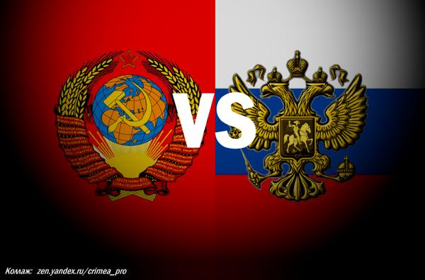 Советский Союз и современная Россия -  сравнение глазами простого человека