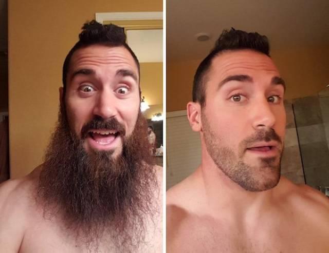 Как борода влияет на внешнос…