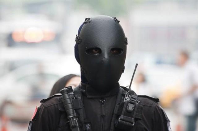 Баллистическая маска спецназа