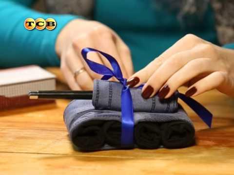 Из носков подарок мужчине