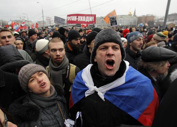 Борис Григорьев. Им митинг строить и жить помогает: о разнице меж нашим и западным протестом