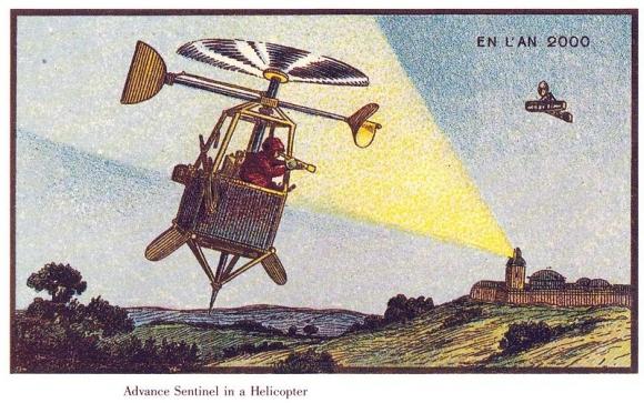 Как художники в 1899-м году видели наше будущее