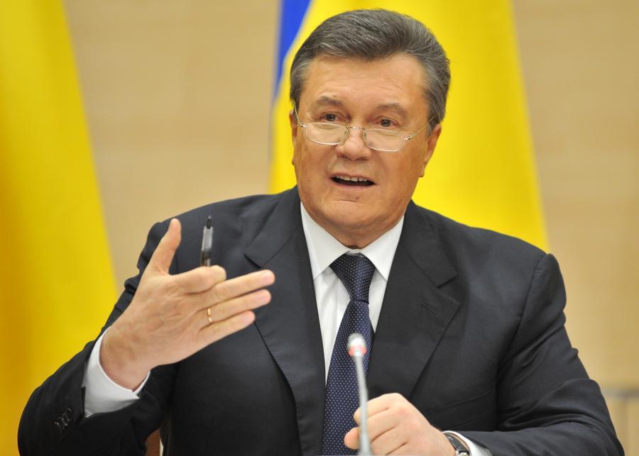 Виктор Янукович в интервью BBC поблагодарил Владимира Путина за спасение его жизни