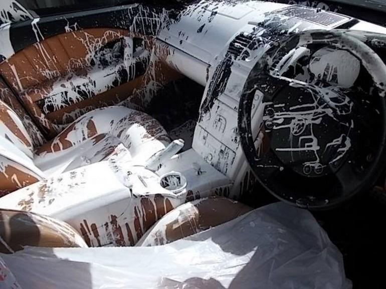 Почему нельзя возить краску в Maserati
