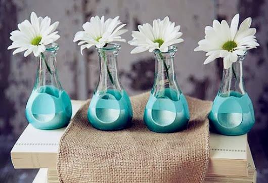 Мини вазочки своими руками