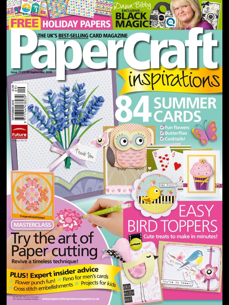PaperCraft Inspirations 09 (77) 2010 (скрапбукинг)