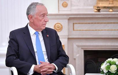 Президент Португалии покатался в московском метро