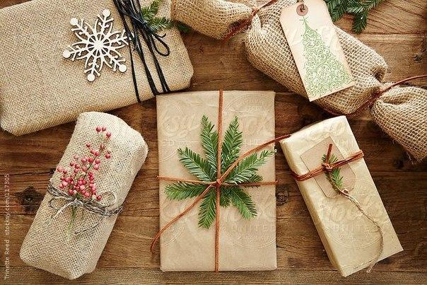 Идеи для упаковки подарков.