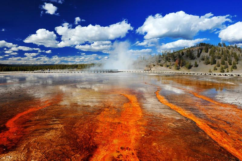 4. Национальный парк Йеллоустоун (штаты Вайоминг, Монтана и Айдахо, США) вай фай, интернет, отдых