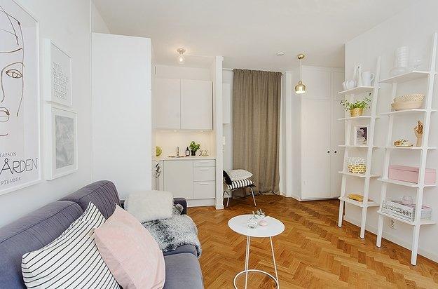 Дизайн ремонта квартир 35 кв.м