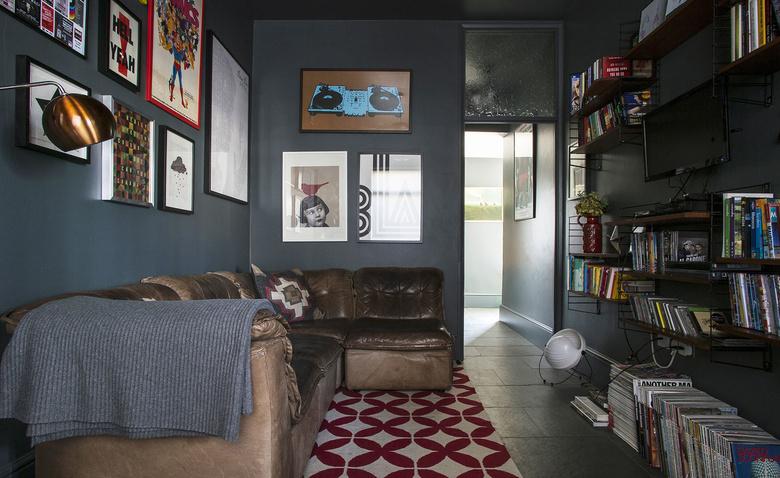 Темный винтаж: уютный семейный дом