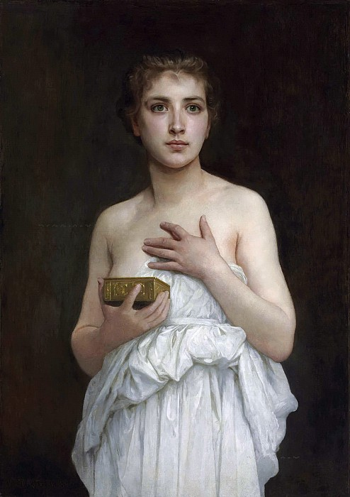 «Пандора». Автор: William Bouguereau.
