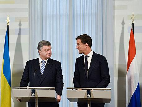 Как премьер Нидерландов осадил Порошенко