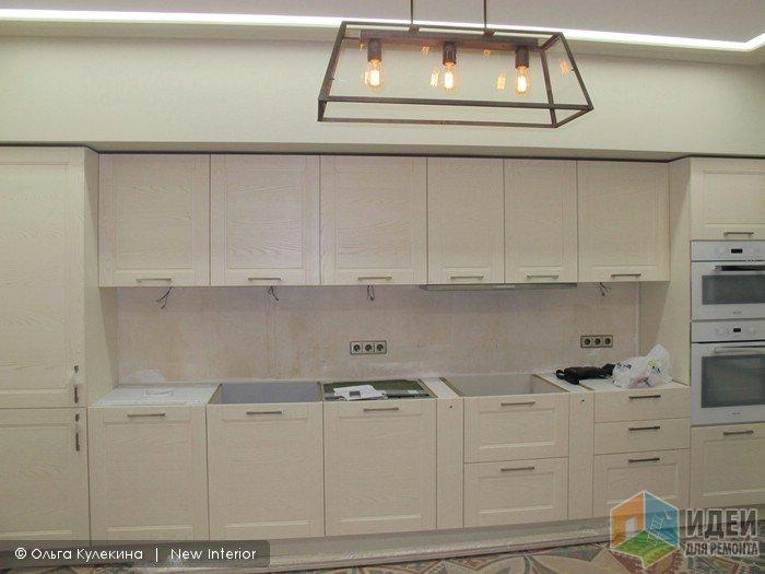 Ремонт по дизайн-проекту кухня