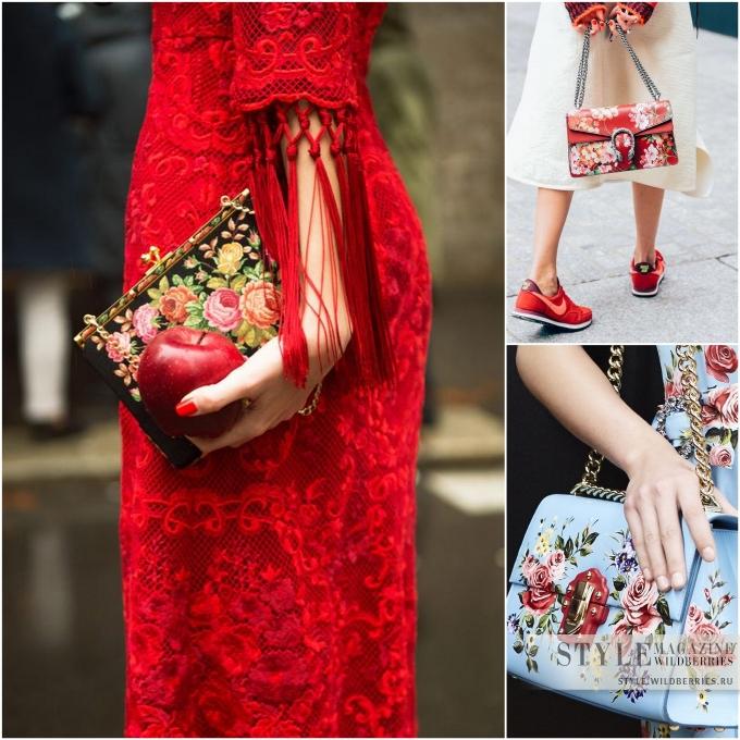 «Только здесь и сейчас»: Актуальные сумочки с деревянными, плетеными и цветочными мотивами