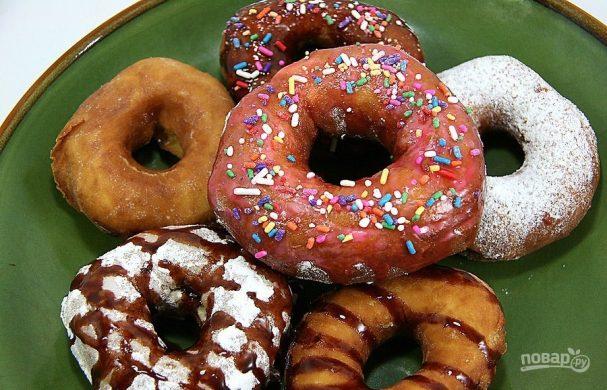 Пышные пончики