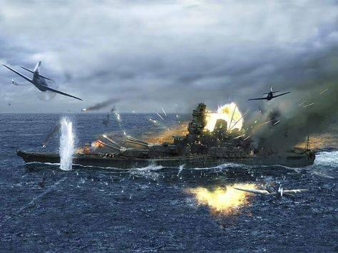 Надводные корабли против самолётов. Вторая мировая