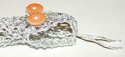 Змея - плетение из фольги - своими руками. Символ 2013 года. Мастер-класс Олеси Емельяновой. Зубы змеи