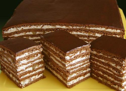 Медовик шоколадный рецепт фото