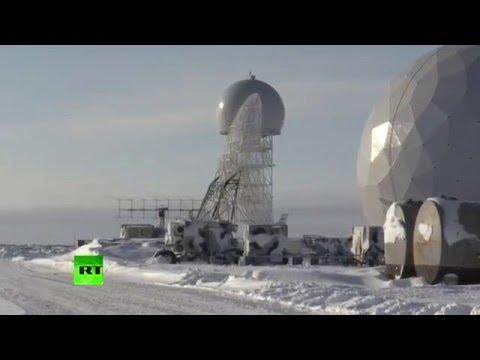 Сергей Шойгу посетил новую военную базу в Арктике. Видео
