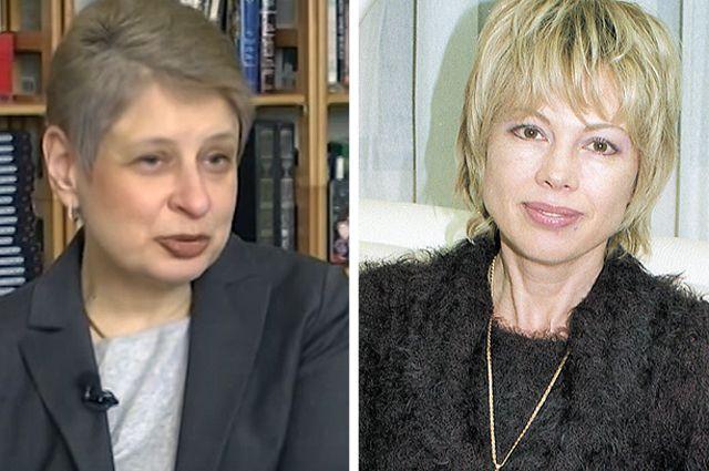 Нина Хрущёва и дочь экс-президента СССР Михаила Горбачева Ирина Вирганская.