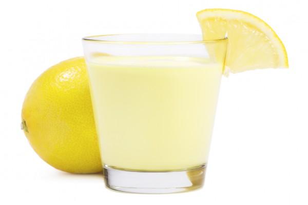 Лимончелло с молоком