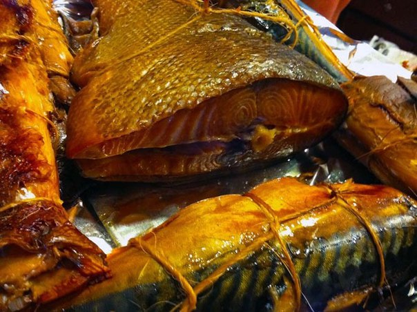 Копченая рыба в домашних условиях