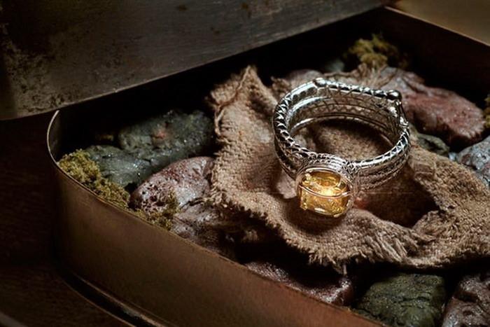 Кольцо в стиле Индианы Джонс диза, кольцо, креатив