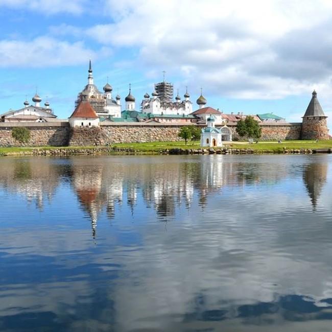 Соловецкие острова в фотографиях