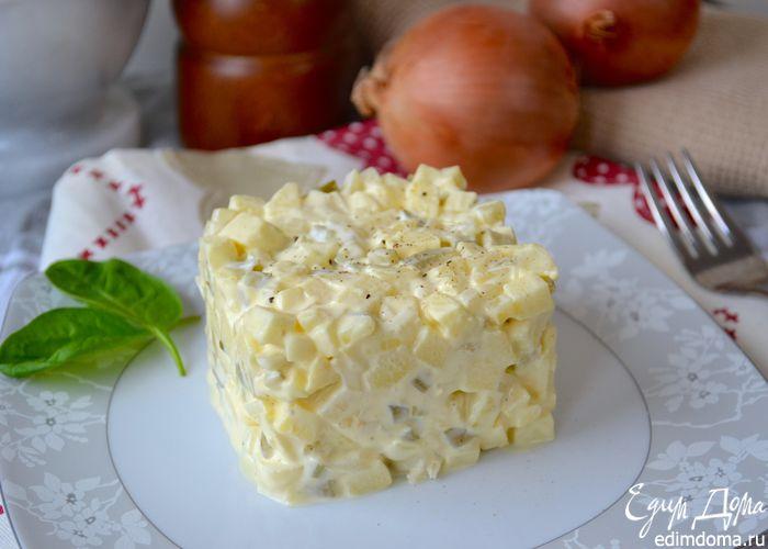 """Необыкновенно вкусный и нежный... луковый салат """"по - польски"""""""
