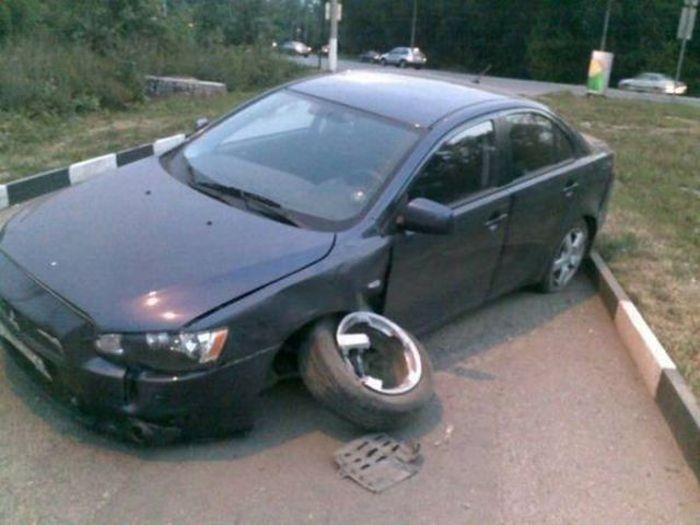 Странные автомобильные аварии